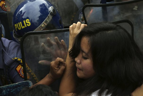 AP Photo/Bullit Marquez
