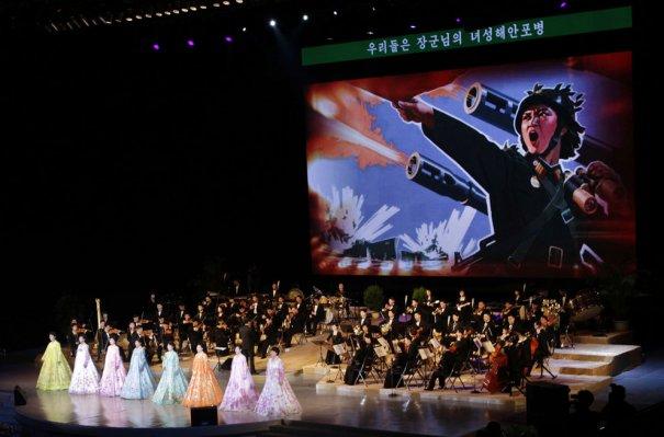 AP Photo/Jon Chol Jin