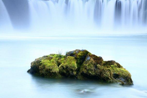 Водопад Годафосс, Исландия.