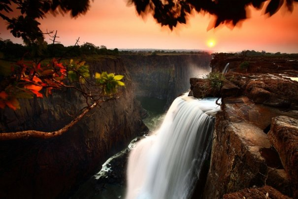 Водопад Виктория, Замбия.