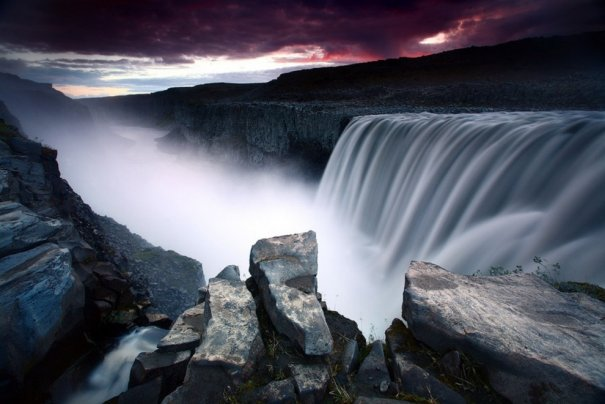 Водопад Деттифосс, Исландия.