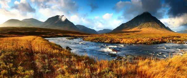 Долина Гленко, Шотландия.