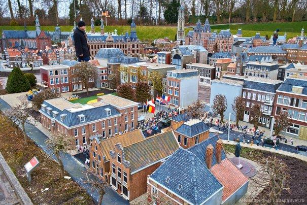 Madurodam - музей миниатюры в Гааге - №1