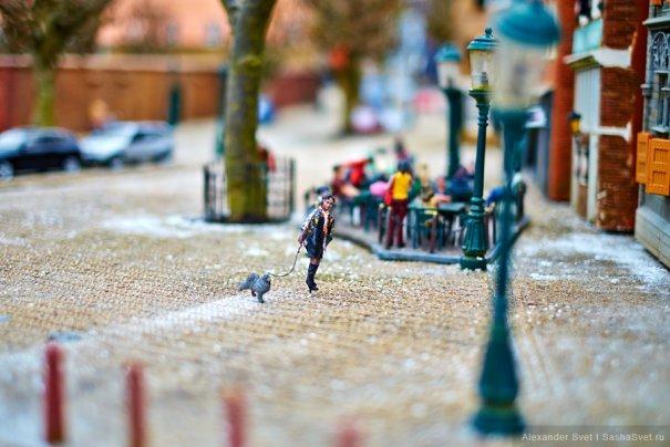 Madurodam - музей миниатюры в Гааге - №11