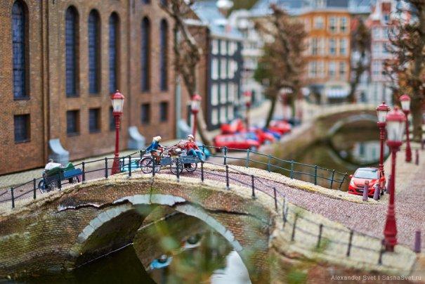 Madurodam - музей миниатюры в Гааге - №12