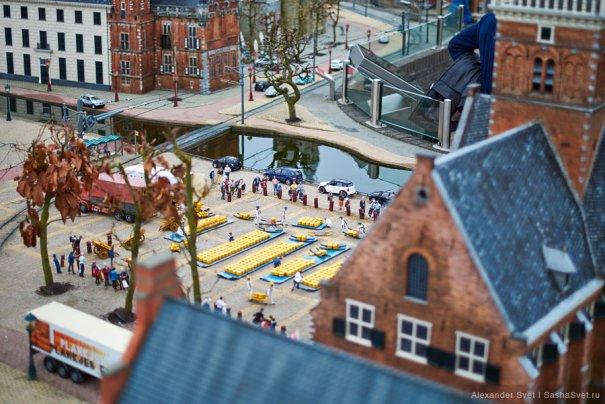 Madurodam - музей миниатюры в Гааге - №13