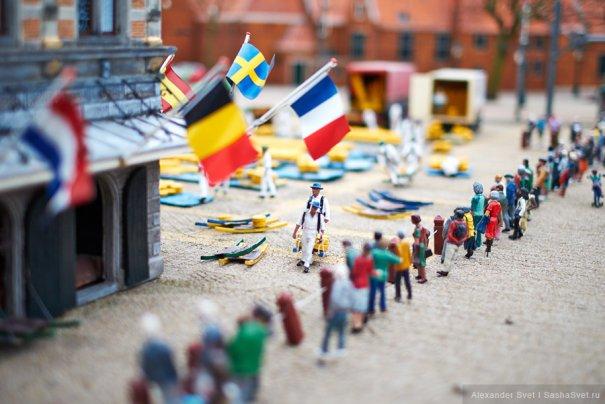 Madurodam - музей миниатюры в Гааге - №14
