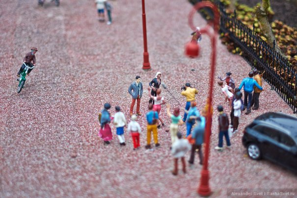 Madurodam - музей миниатюры в Гааге - №15