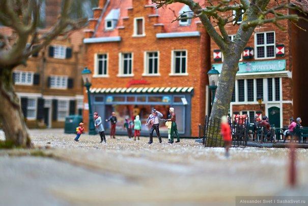 Madurodam - музей миниатюры в Гааге - №17