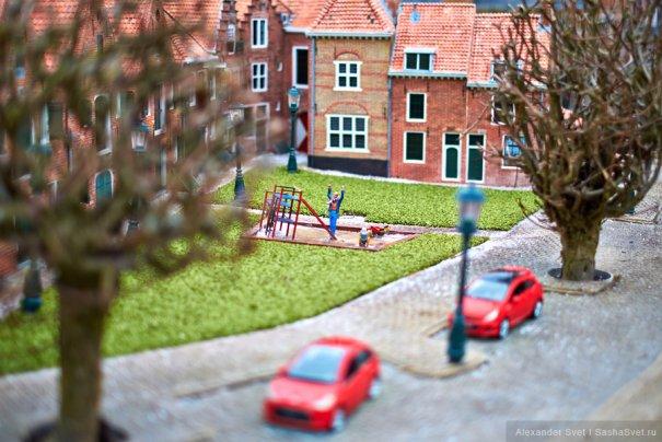 Madurodam - музей миниатюры в Гааге - №18