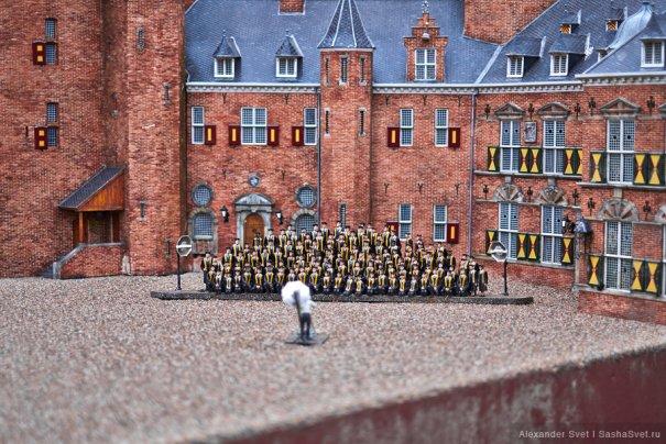 Madurodam - музей миниатюры в Гааге - №22