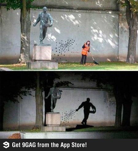 стрит арт граффити