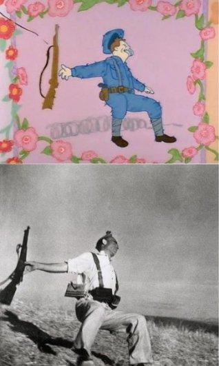 """Фото юмор. Пародия """"Симпсонов"""" на реальные фотографии - №2"""