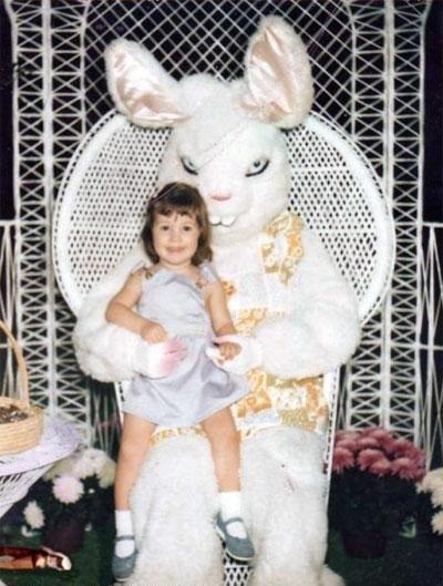 Фото юмор. Самые ужасные и смешные пасхальные кролики - №1