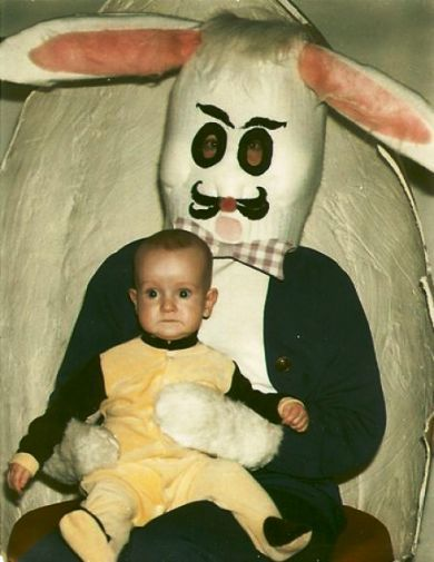 Фото юмор. Самые ужасные и смешные пасхальные кролики - №2