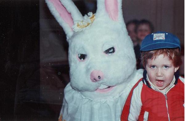Фото юмор. Самые ужасные и смешные пасхальные кролики - №6