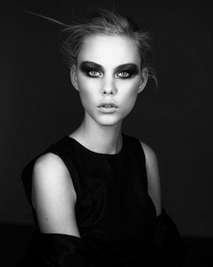 черно-белые фотосессии людей 3