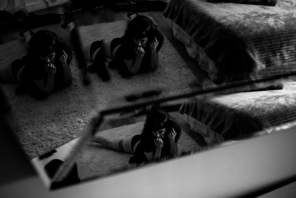 черно-белые фотосессии людей 11