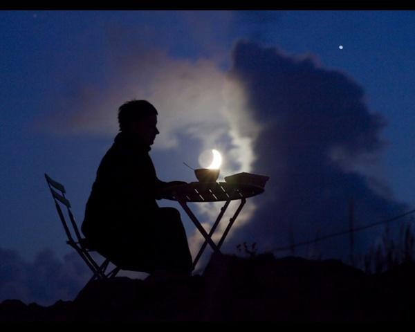 Ночная фото игра с Луной - №4