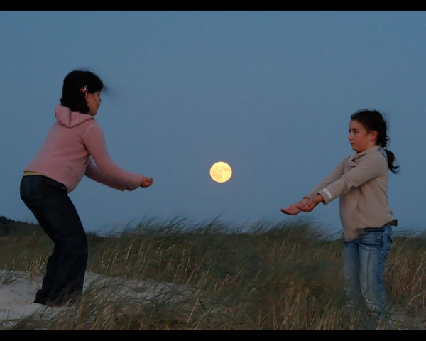 Ночная фото игра с Луной - №10