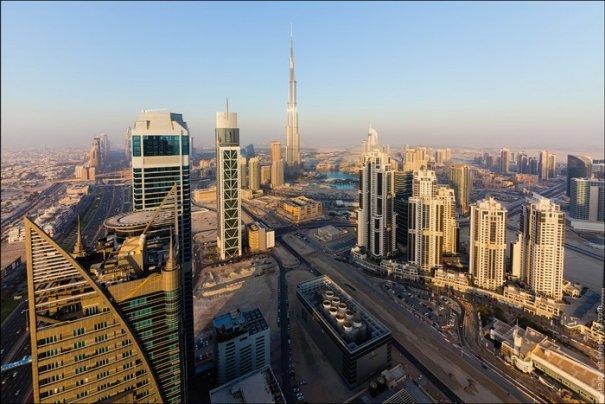 Прогулка по крышам города Дубай - №1