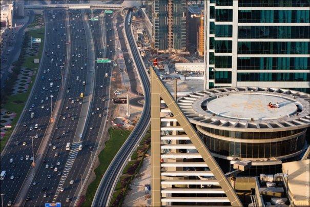 Прогулка по крышам города Дубай - №2