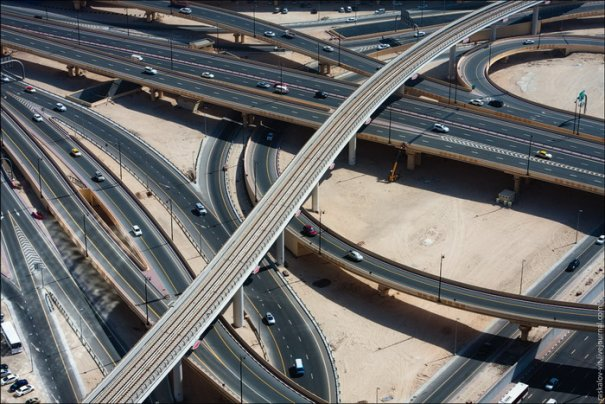 Прогулка по крышам города Дубай - №4