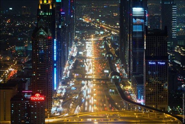 Прогулка по крышам города Дубай - №5