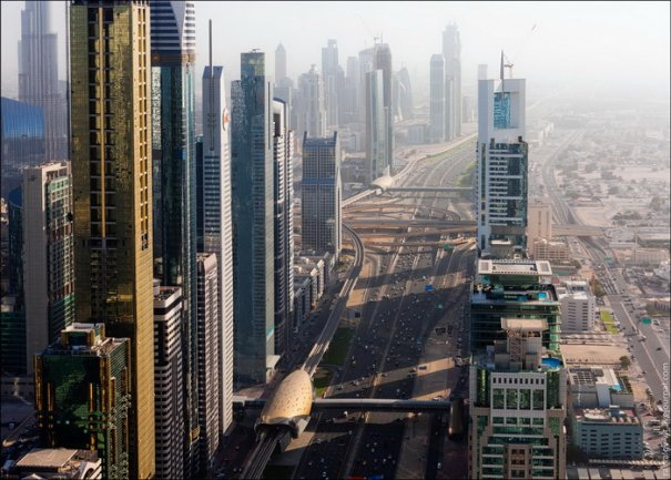 Прогулка по крышам города Дубай - №7