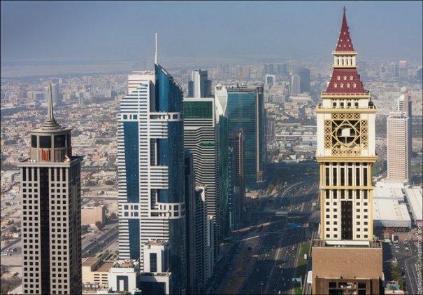 Прогулка по крышам города Дубай - №9