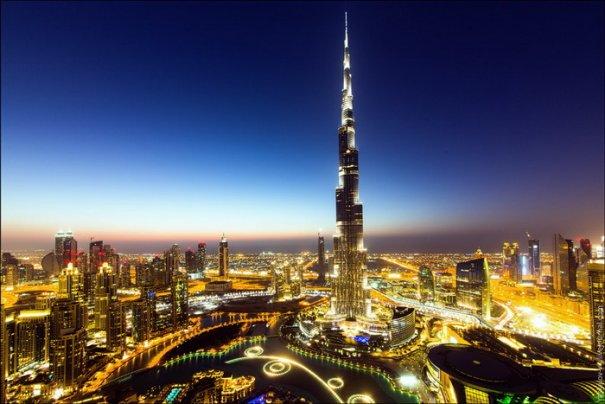 Прогулка по крышам города Дубай - №11