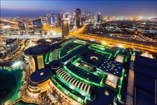 Прогулка по крышам города Дубай - №12