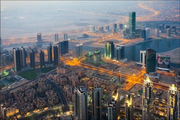 смотреть город Дубай