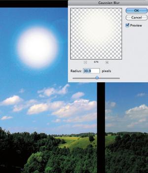 Урок Фотошопа. Управляем погодой - №5