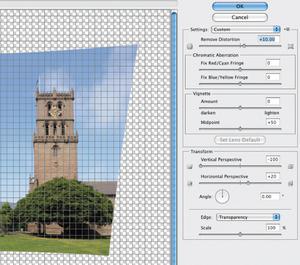 Урок Фотошопа. Фильтр Lens Correction - №7