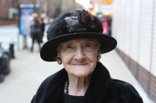 Стильные пожилые люди Нью-Йорка - №1