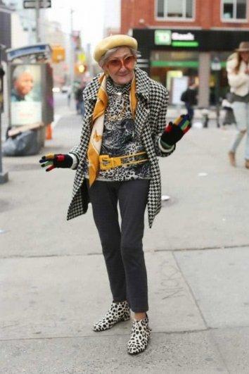 Стильные пожилые люди Нью-Йорка - №3