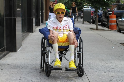 Стильные пожилые люди Нью-Йорка - №5