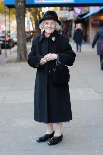 Стильные пожилые люди Нью-Йорка - №7