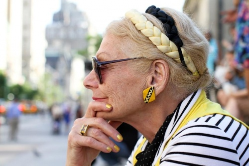 Стильные пожилые люди Нью-Йорка - №8