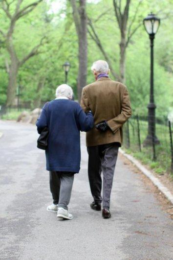 Стильные пожилые люди Нью-Йорка - №9