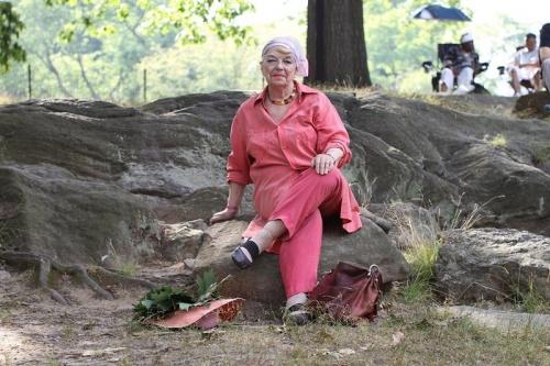 Стильные пожилые люди Нью-Йорка - №11