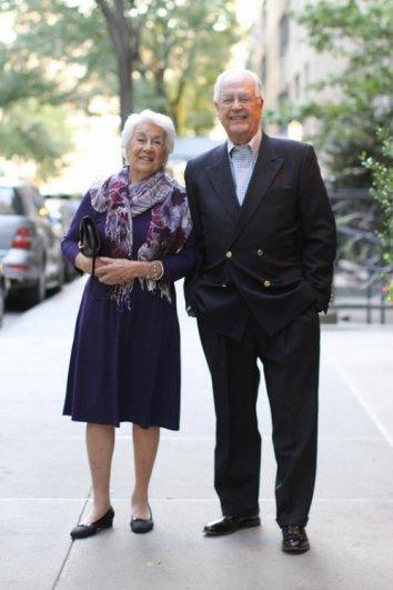 Стильные пожилые люди Нью-Йорка - №12