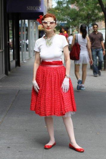 Стильные пожилые люди Нью-Йорка - №13