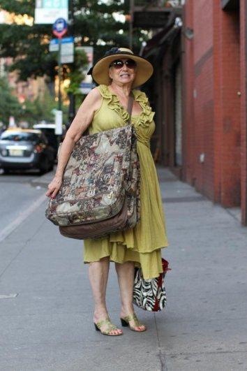 Стильные пожилые люди Нью-Йорка - №14