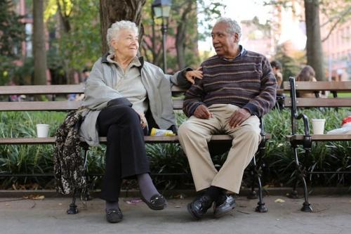 пожилой человек возраст