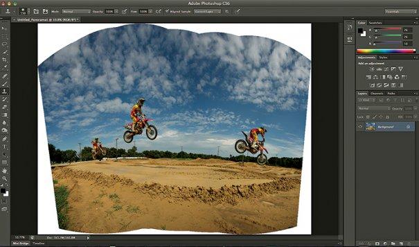 Панорама в Photoshop - №4