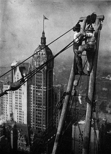 Самые головокружительные фотографии со строительства Нью-Йорка - №5
