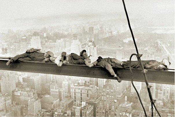 Самые головокружительные фотографии со строительства Нью-Йорка - №7