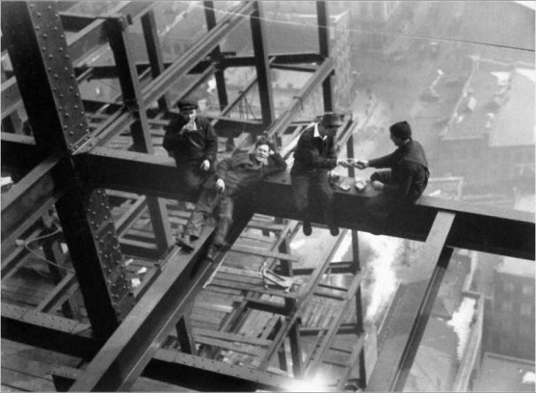 Самые головокружительные фотографии со строительства Нью-Йорка - №8